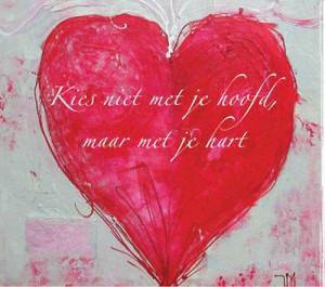 hart met hart gekozen