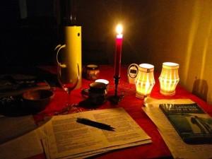 's nachts studeren
