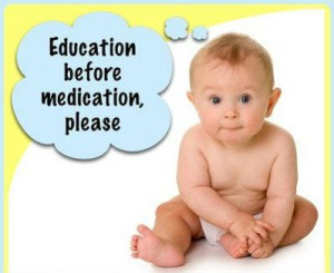 education-before-medfication