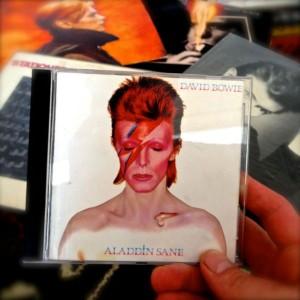 Bowie Alladin Sane Rob Bekker kloof