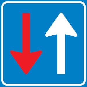 F6-Bestuurders-uit-tegengestelde-richting-moeten-verkeer-dat-van-deze-richting-nadert-voor-laten-gaan