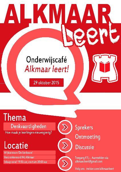 PosterAlkmaarLeert08092015