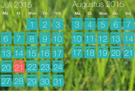 juli-augustus