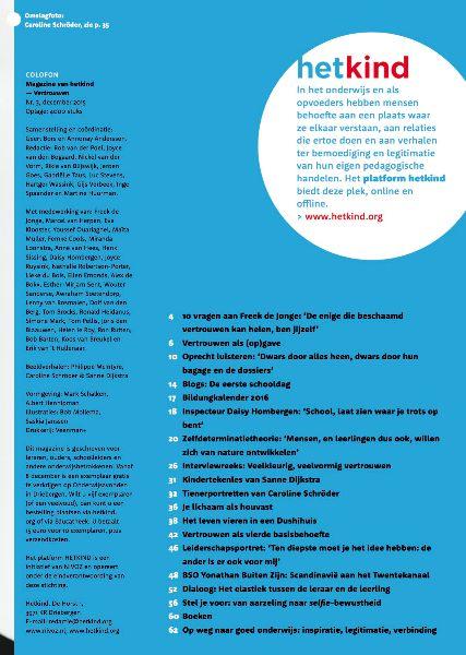Inhouddopgave magazine nr 3